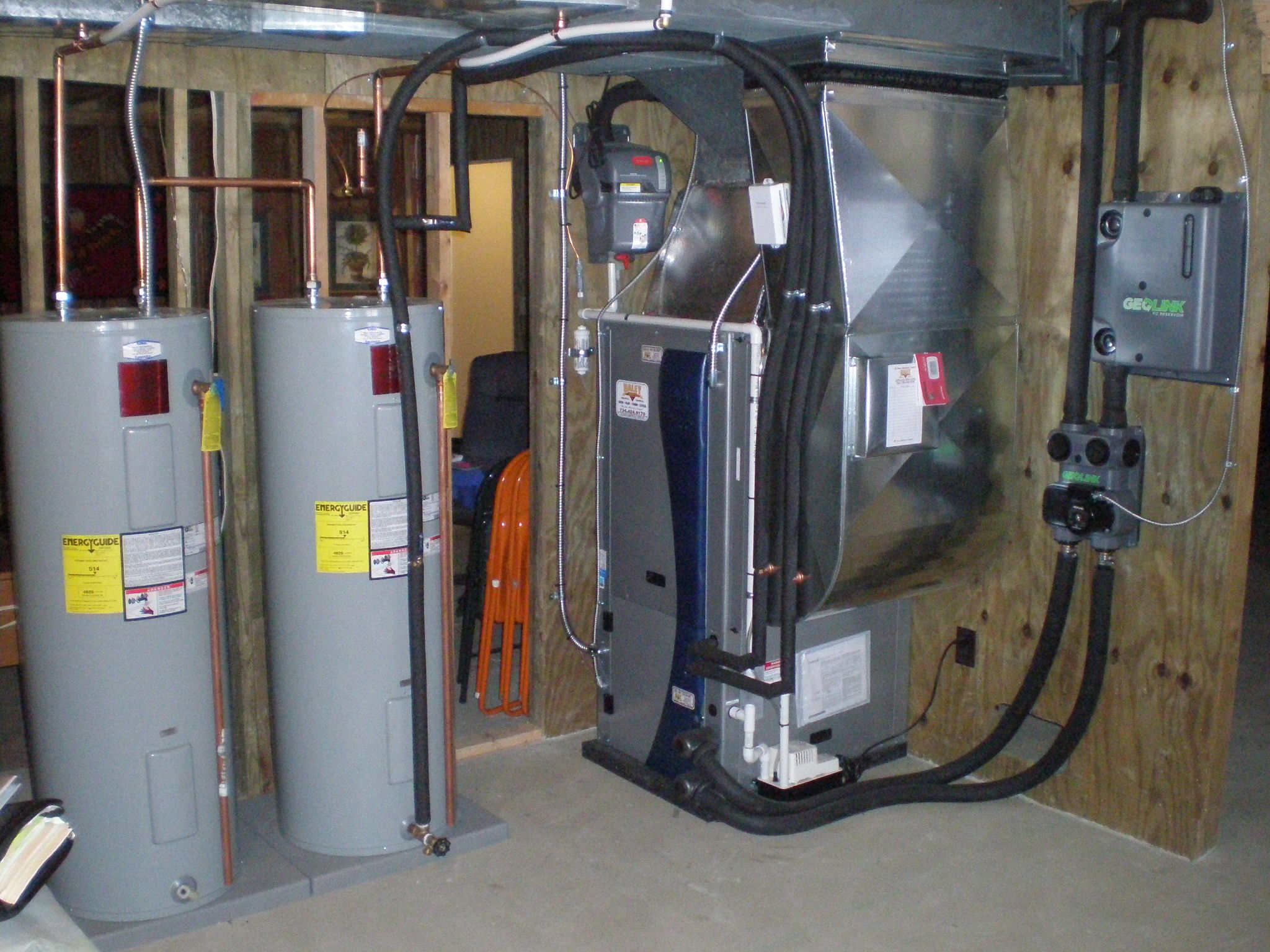 Geothermal Projects C Amp S Heat Air Electrical Inc